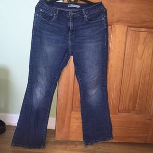Levi's 515 boot cut blue jeans sz 10